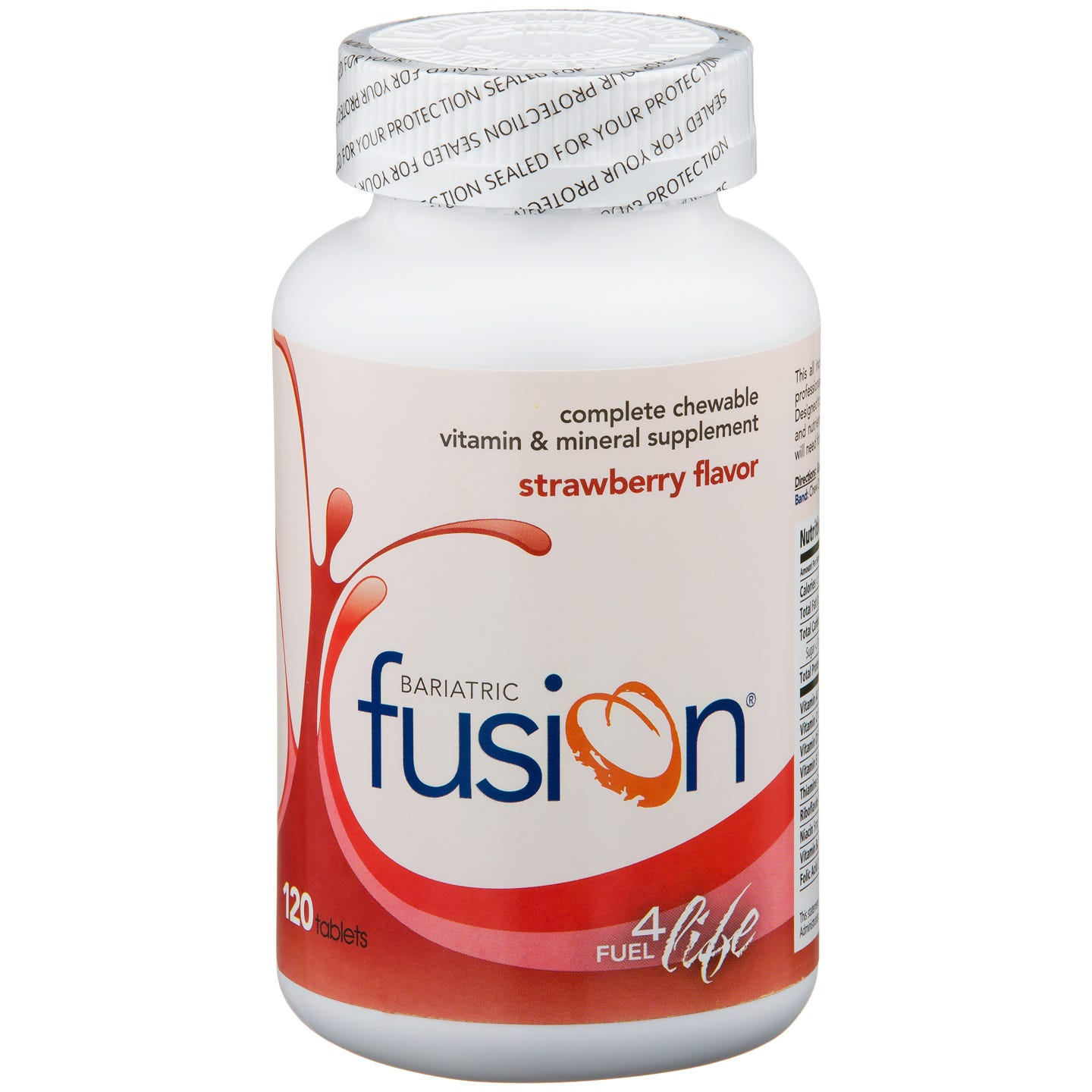 Bariatric Fusion Chewable Vitamin & Mineral Supplement - Strawberry