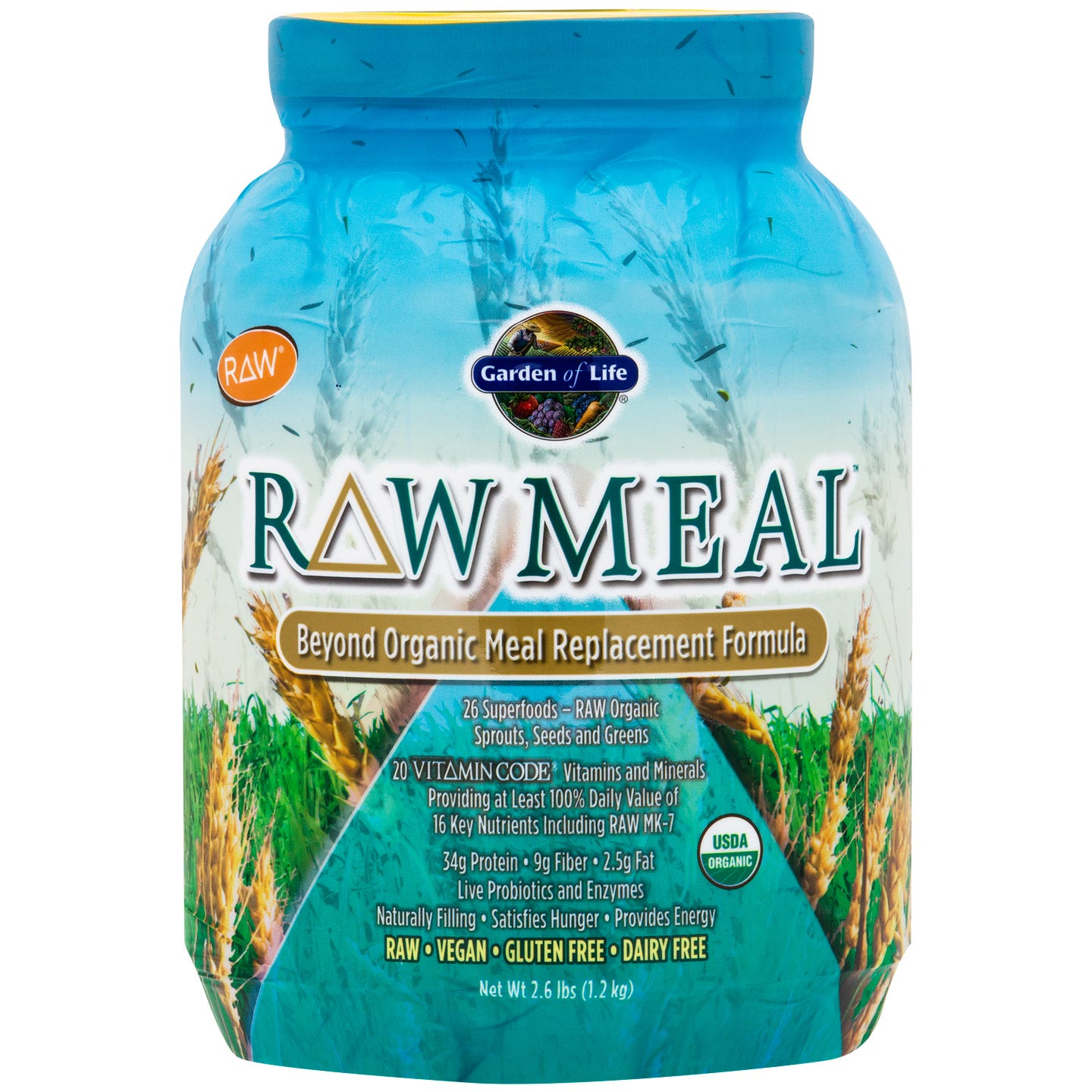 Organic RAW Meal Original 2.6 lb - Garden of Life - Rapid Diet Weight Loss Products Shop