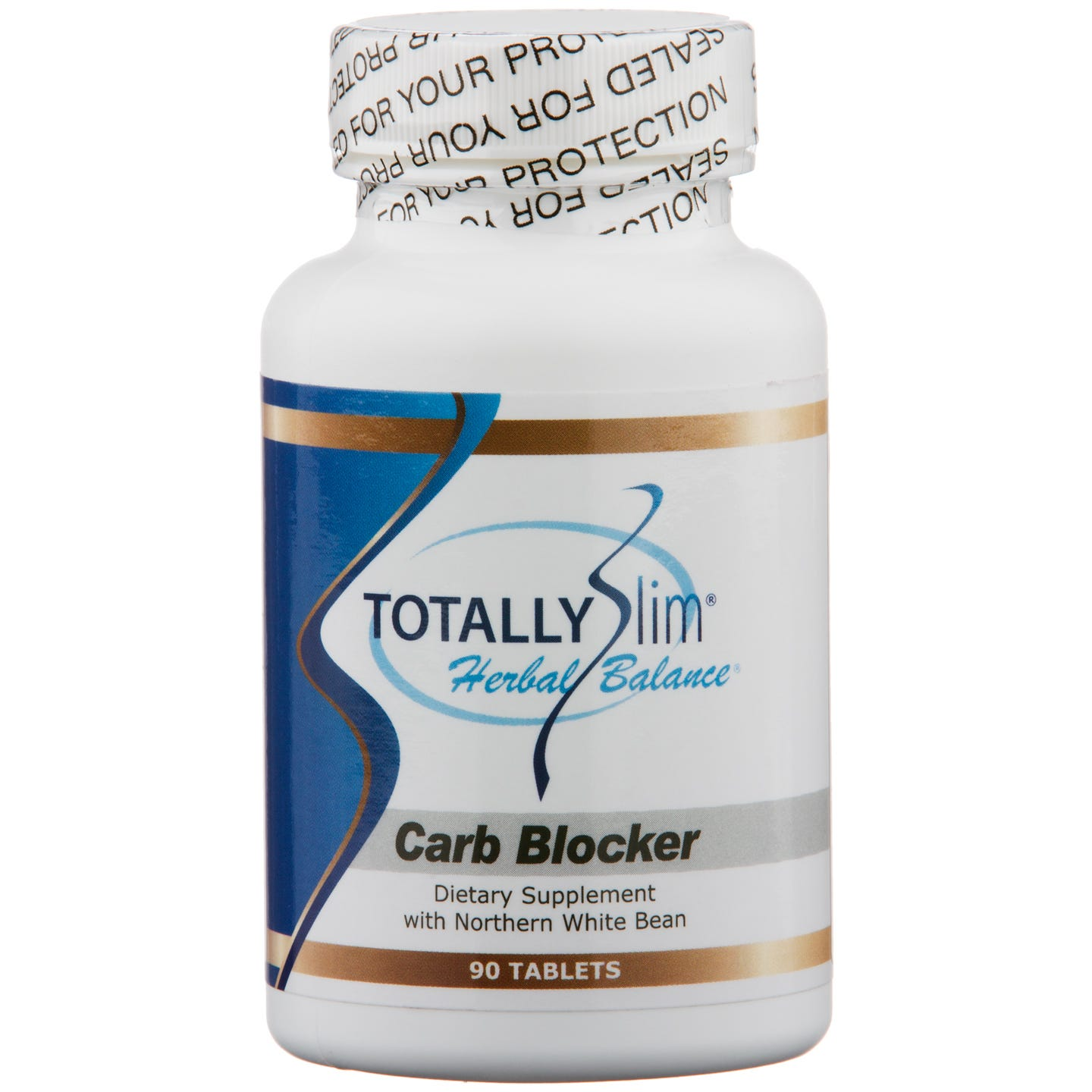 Herbal Balance Carb Blocker (90 ct) - Totally Slim - Rapid Diet Weight Loss Products Shop
