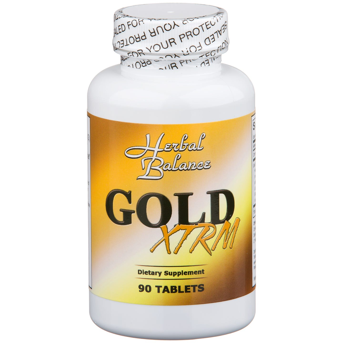Herbal Balance Gold XTRM (90 ct) - Totally Slim - Rapid Diet Weight Loss Products Shop