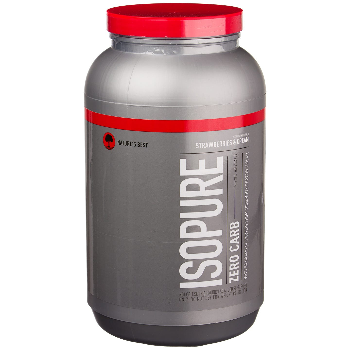 Zero Carb Isopure - Strawberry