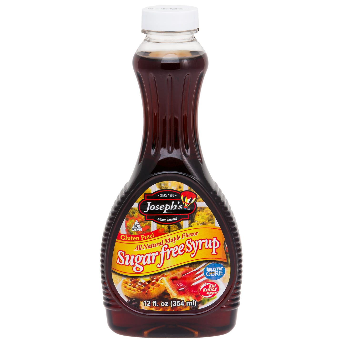 Sugar Free Maple Syrup 12 oz, Joseph's Original - Rapid Diet Weight Loss Products Shop