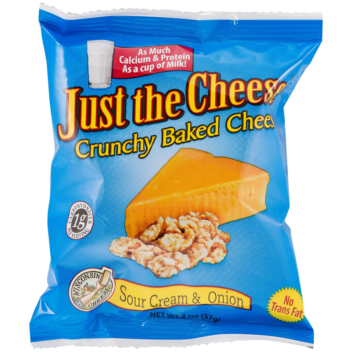 Just The Cheese Snacks - Sour Cream & Onion