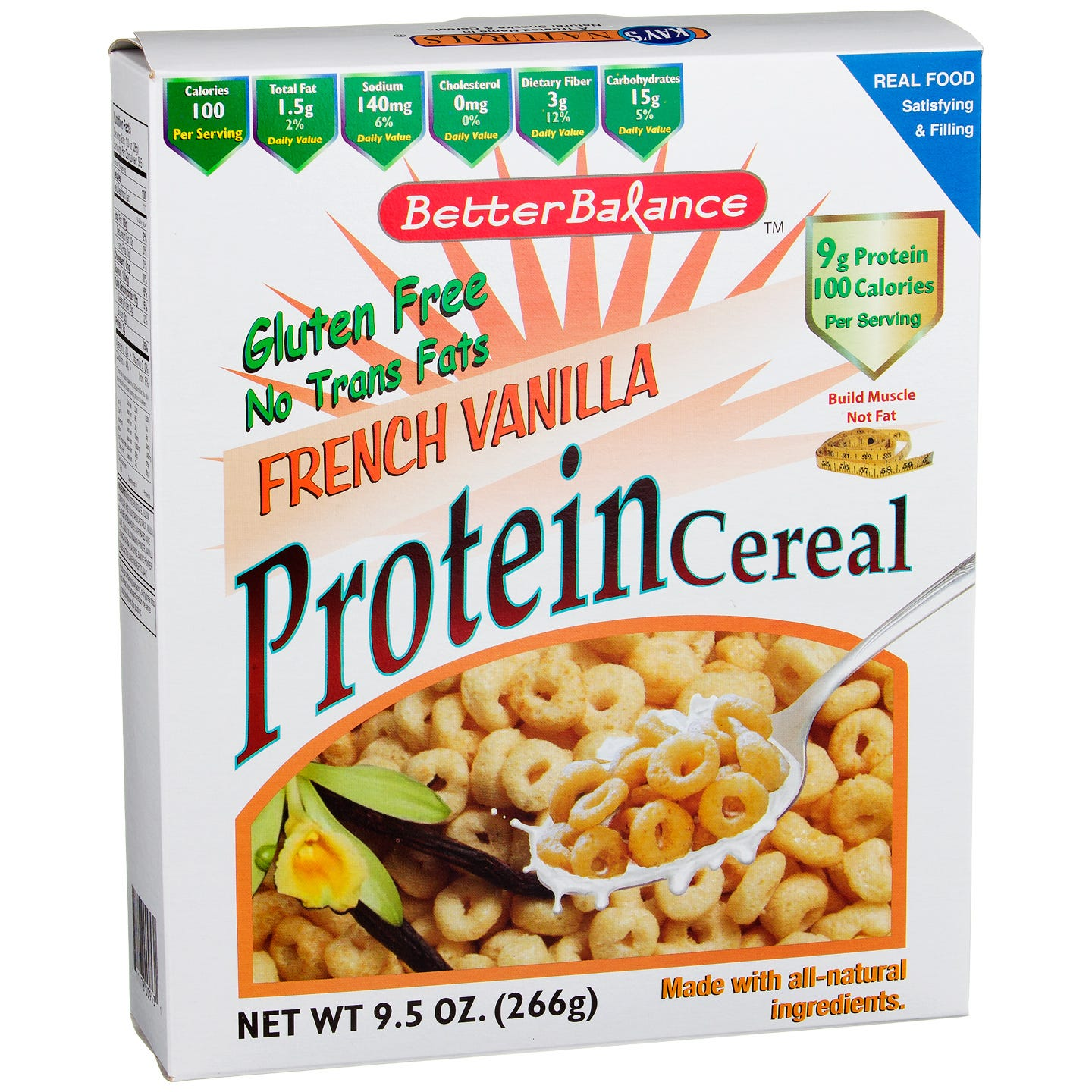 Kay's Naturals Protein Cereal - French Vanilla