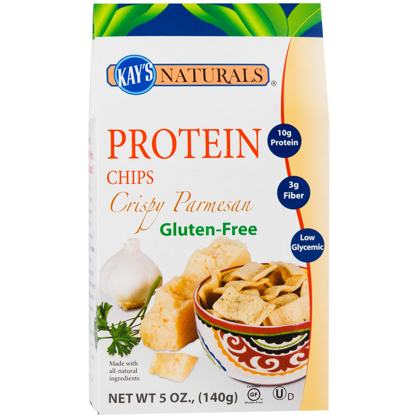 Protein Chips Crispy Parmesan (5 oz) - Kay's Naturals - Rapid Diet Weight Loss Products Shop
