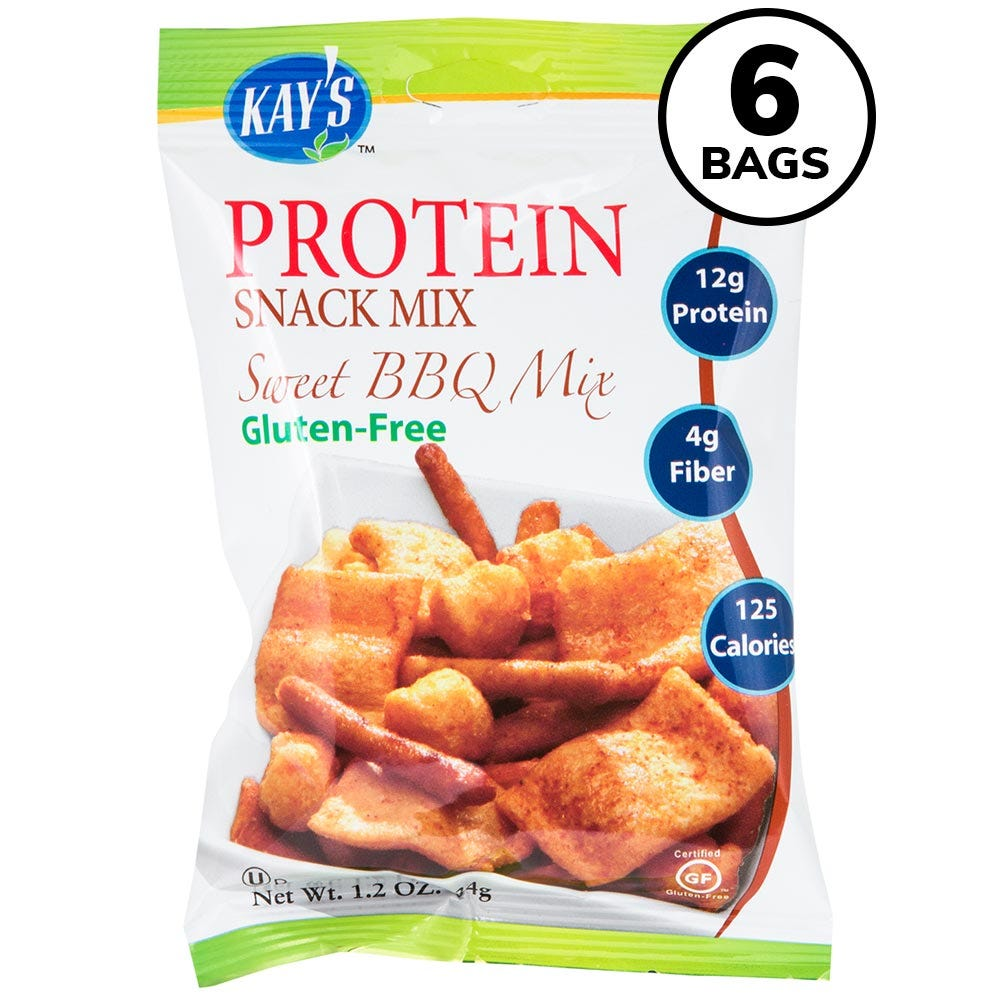 Kay's Protein Snack Mix, Sweet BBQ (6ct)