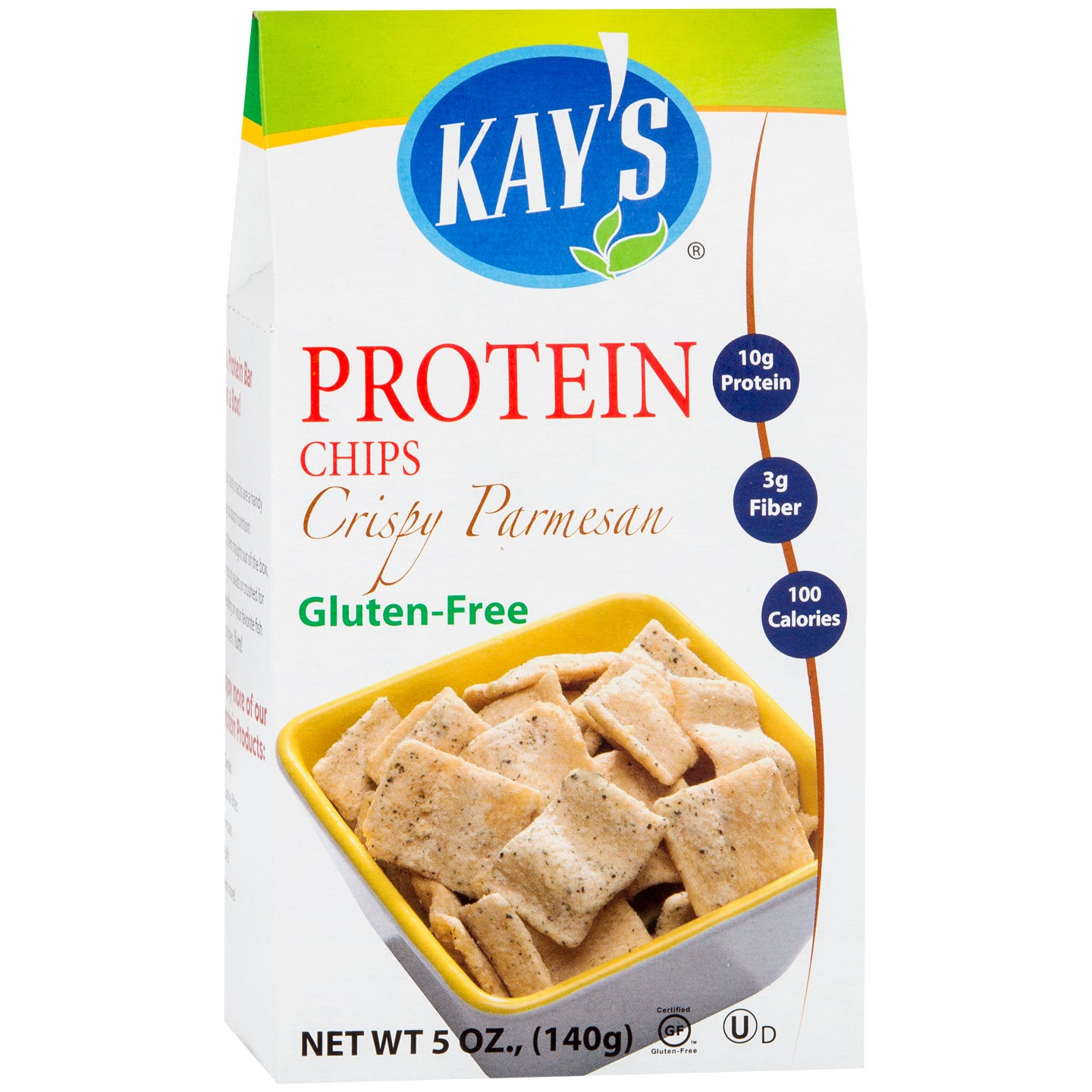 Protein Chips Crispy Parmesan (5 oz) – Kay's Naturals