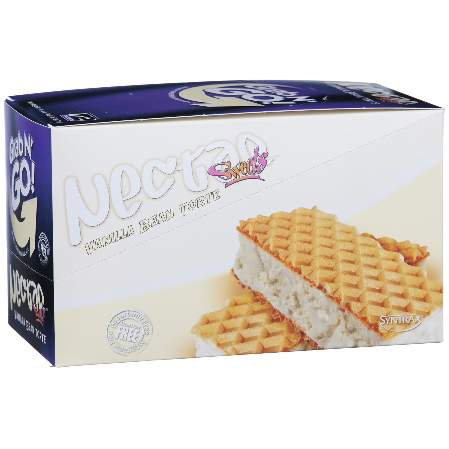 Grab N' Go! Protein Vanilla Bean Torte (12 ct) - Syntrax Nectar - Rapid Diet Weight Loss Products Shop