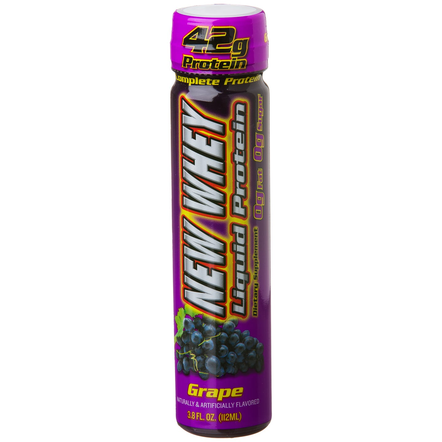 IDS New-Whey Liquid Protein, 42 g Protein - Grape