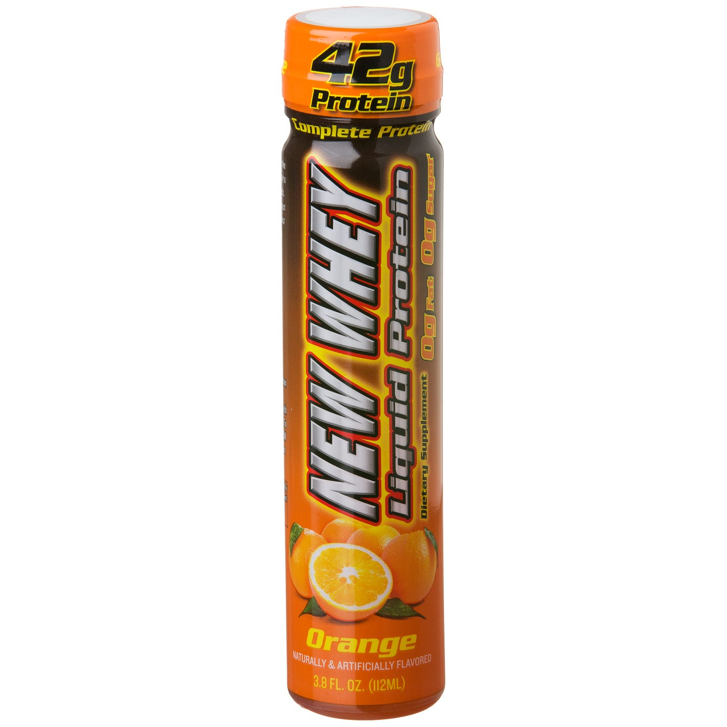 IDS New-Whey Liquid Protein, 42 g Protein - Orange