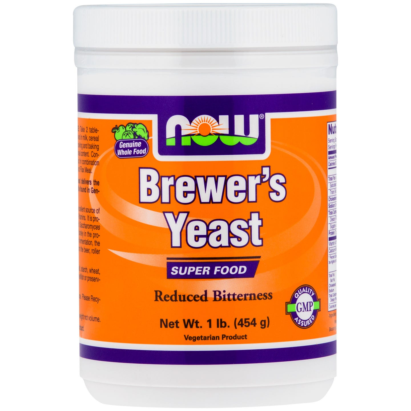 Brewer's Yeast 1lb, NOW Foods - Rapid Diet Weight Loss Products Shop