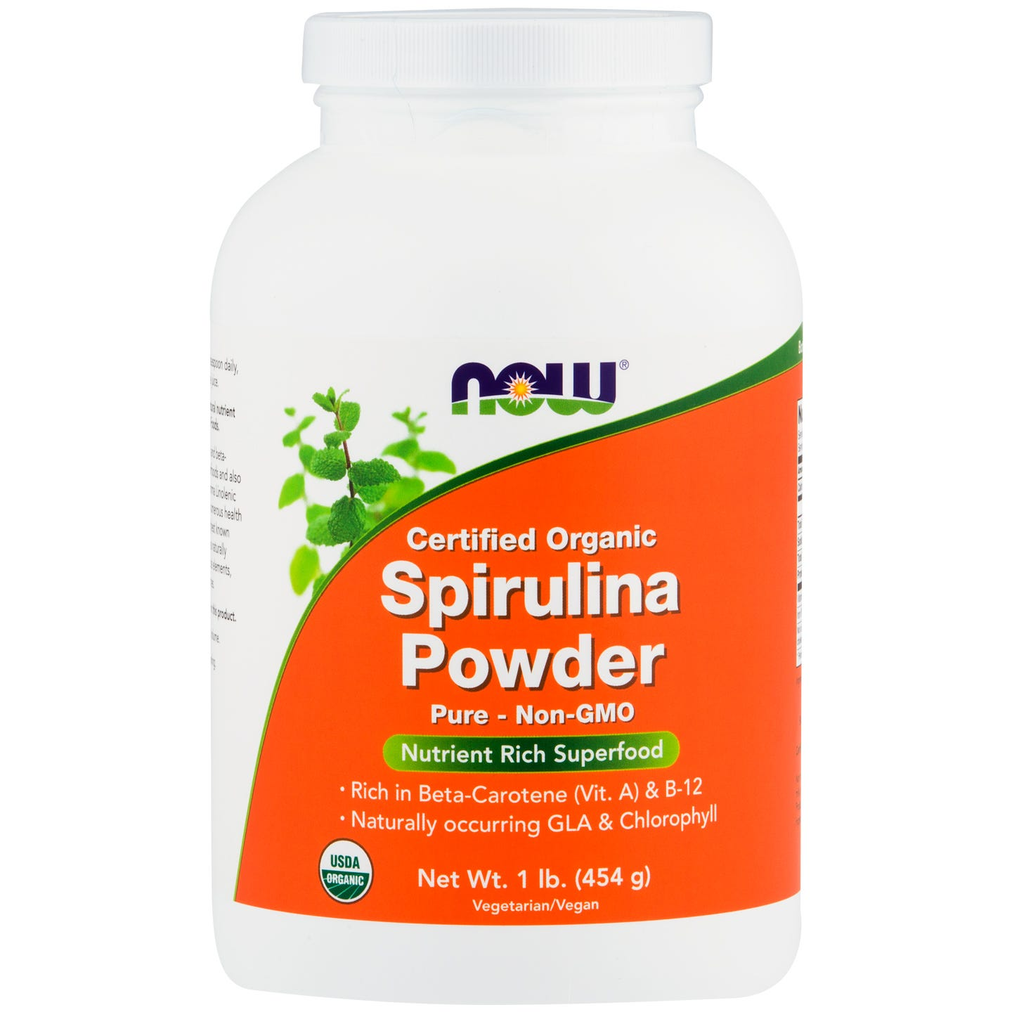 Organic Spirulina Powder 1lb, NOW Foods - Rapid Diet Weight Loss Products Shop