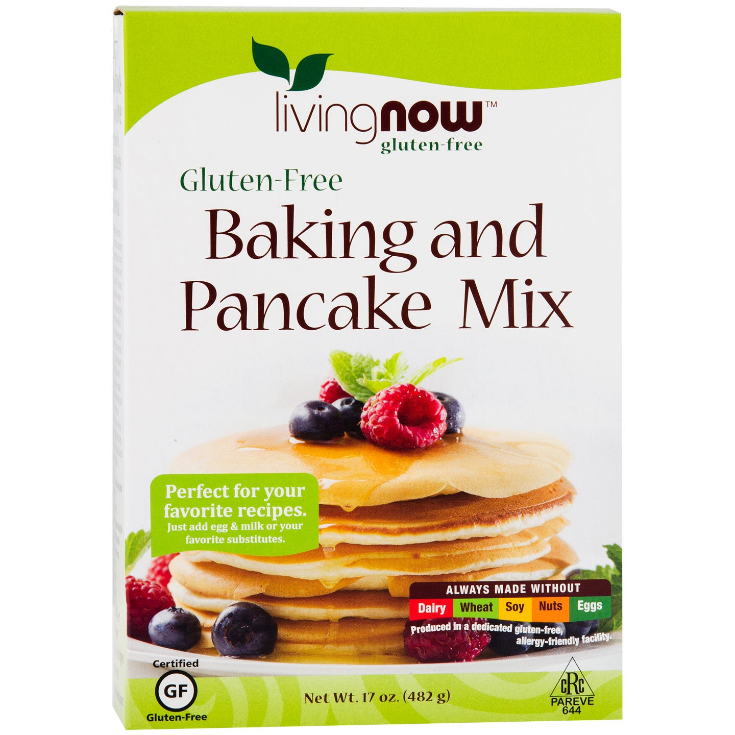Living Now Gluten Free Baking and Pancake Mix 17oz, NOW Foods - Rapid Diet Weight Loss Products Shop