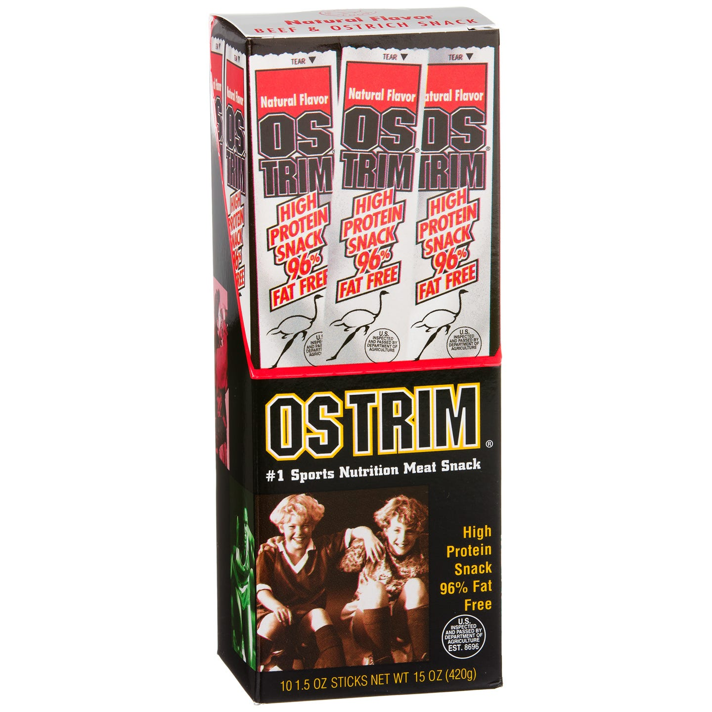 OSTRIM Meat Stick Snacks - Natural