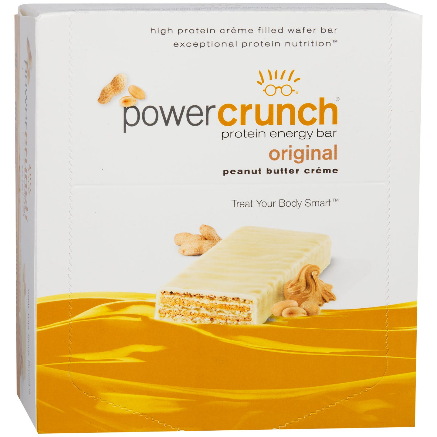 Protein Energy Bar Peanut Butter Creme (12 ct) - Power Crunch - Rapid Diet Weight Loss Products Shop