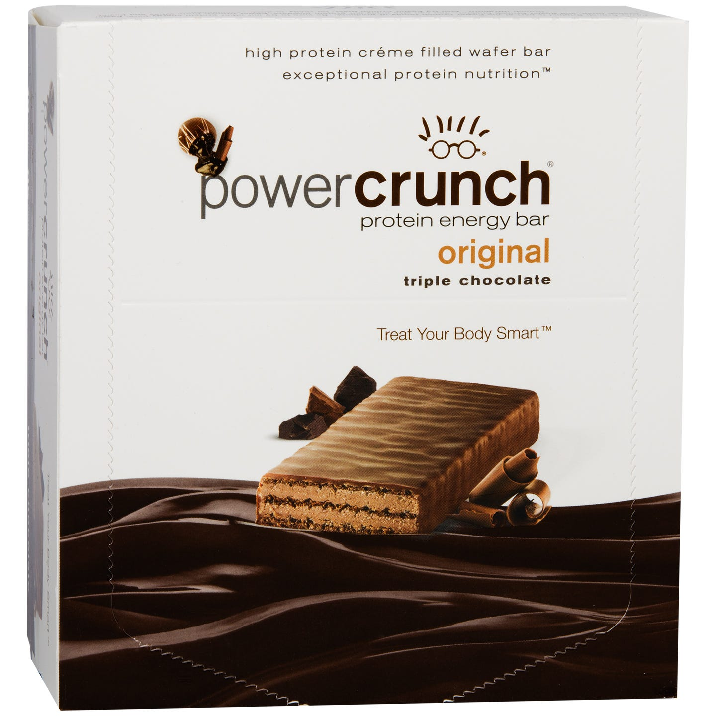 Protein Energy Bar Triple Chocolate (12 ct) - Power Crunch - Rapid Diet Weight Loss Products Shop