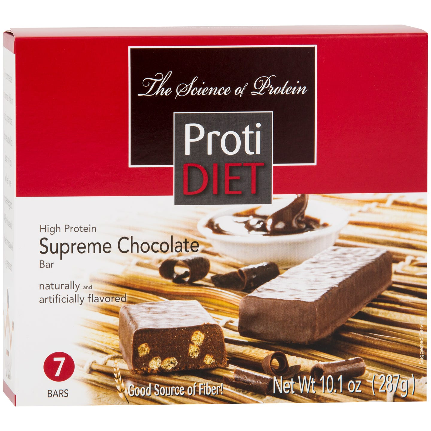 Protein Bars Chocolate (7 Ct) - ProtiDiet