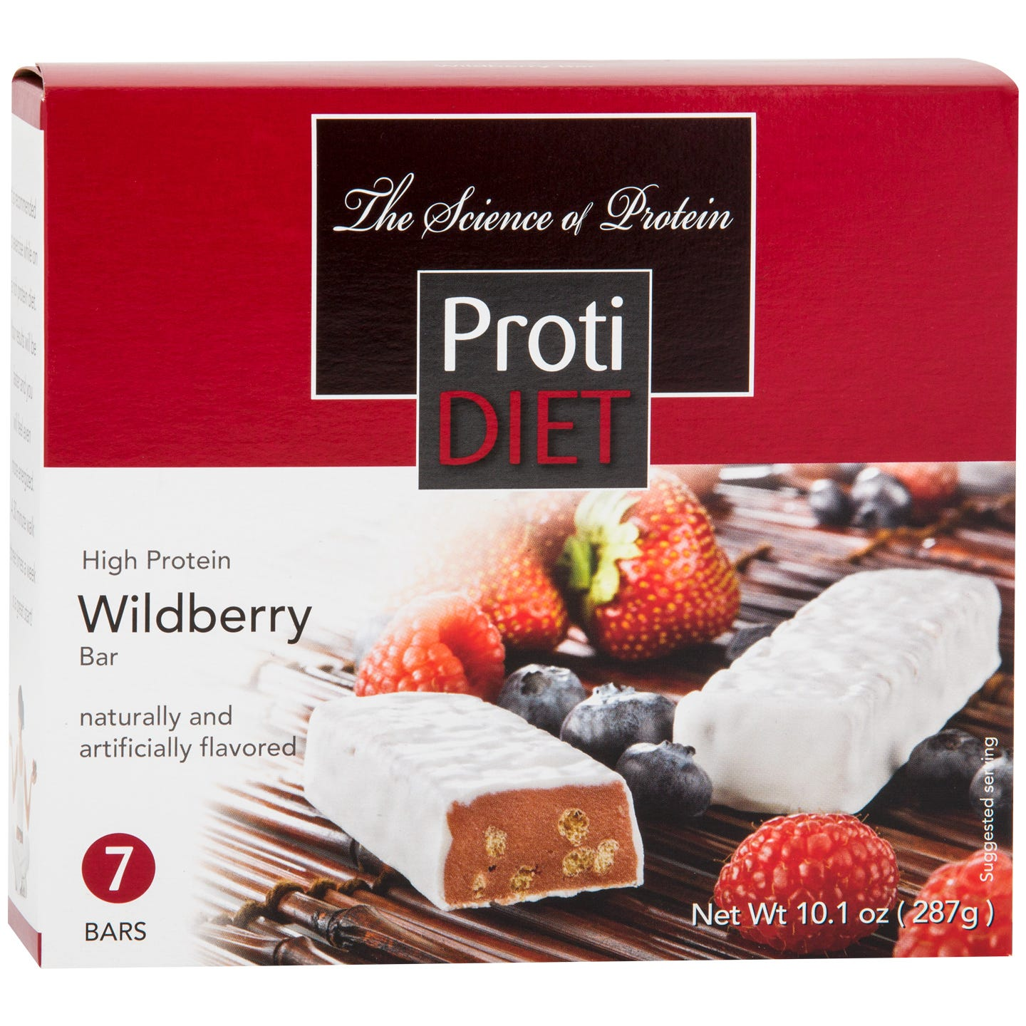 Protein Bars Wildberry (7 ct) - ProtiDiet - Rapid Diet Weight Loss Products Shop