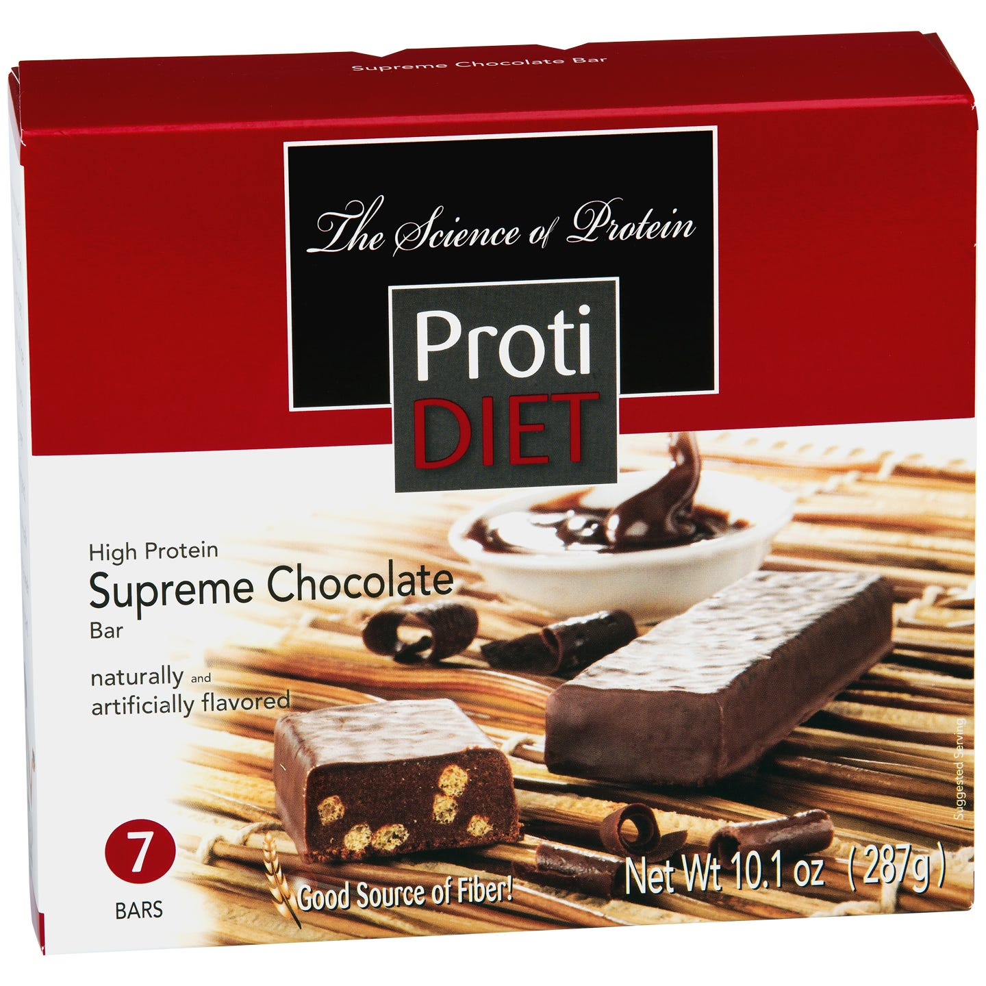 ProtiDiet Protein Bars - Chocolate