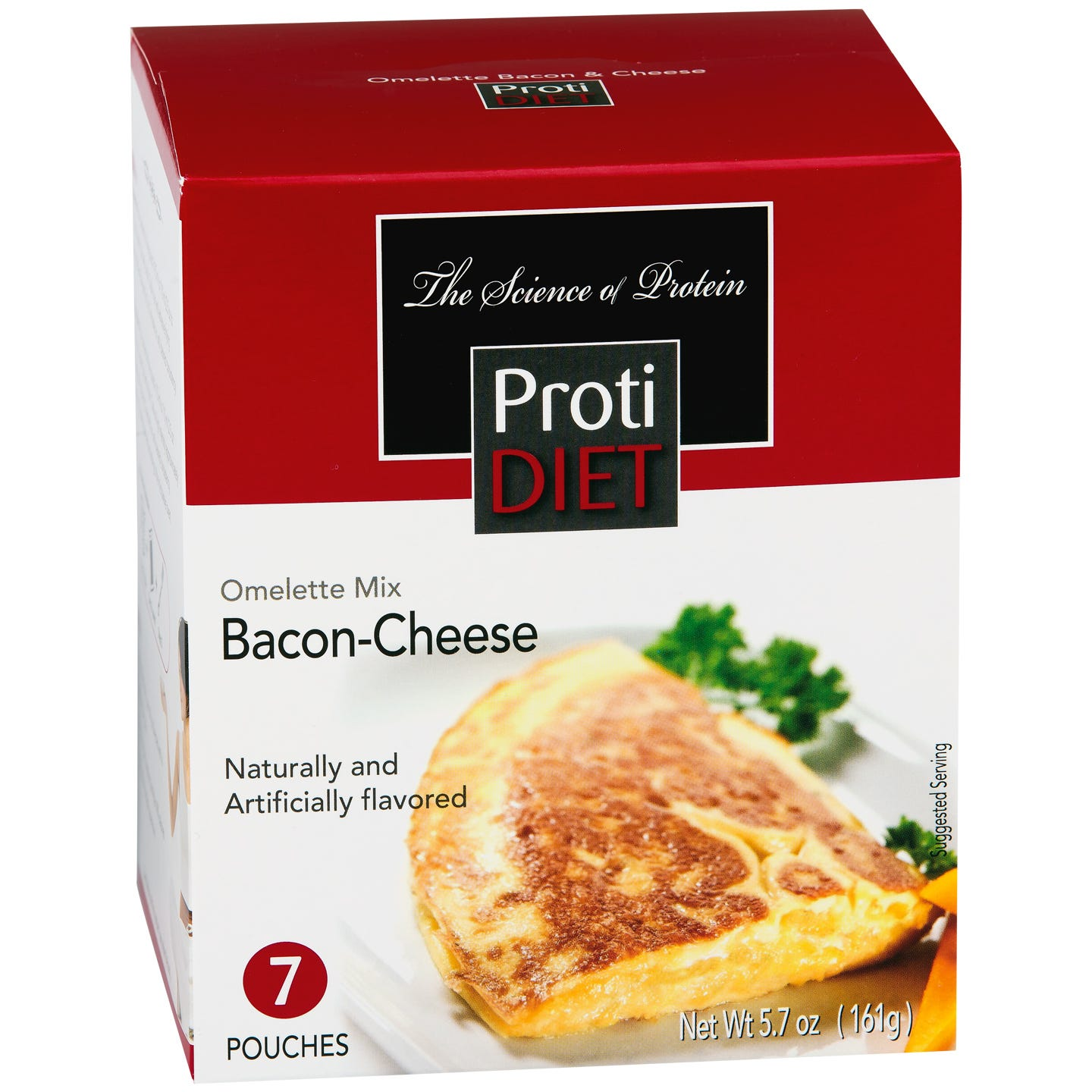 Bacon & Cheese Omelette Mix (7 ct) - ProtiDiet - Rapid Diet Weight Loss Products Shop