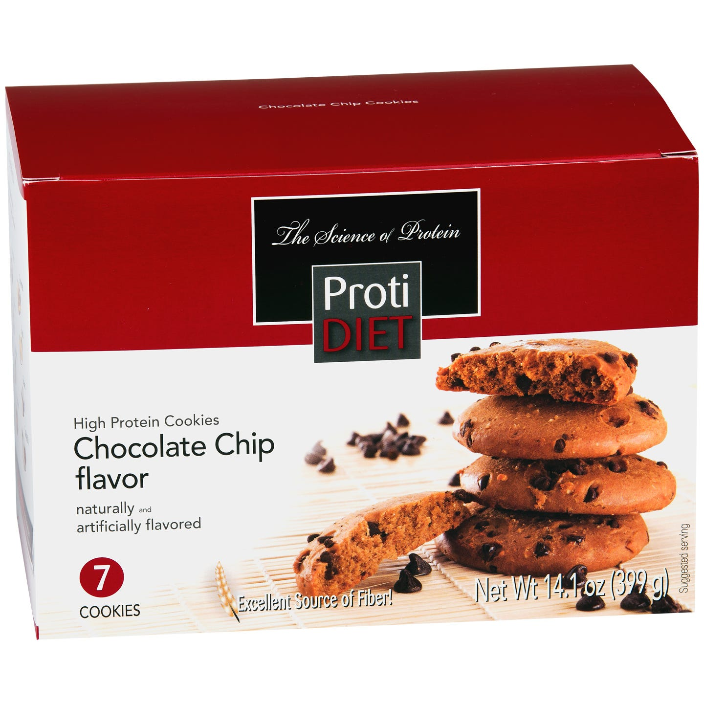 ProtiDiet Protein Cookies - Chocolate Chip