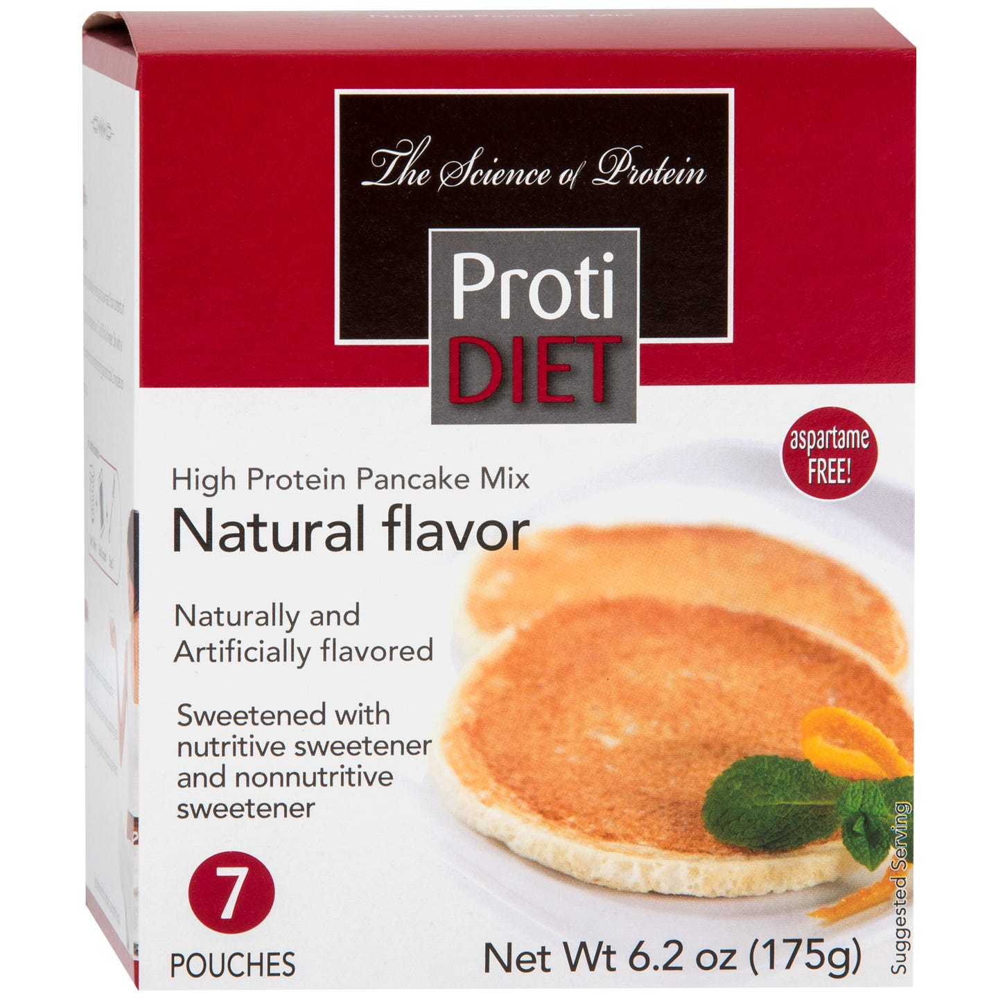 Pancakes Natural (7 Ct) - ProtiDiet