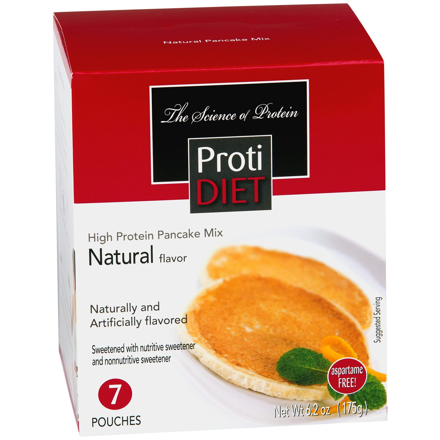 Pancakes Natural (7 ct) - ProtiDiet - Rapid Diet Weight Loss Products Shop