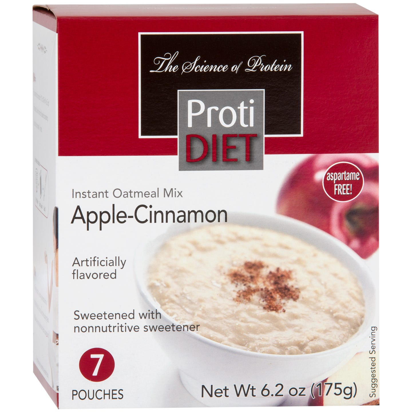 Instant Oatmeal Apple Cinnamon (7 Ct) - ProtiDiet
