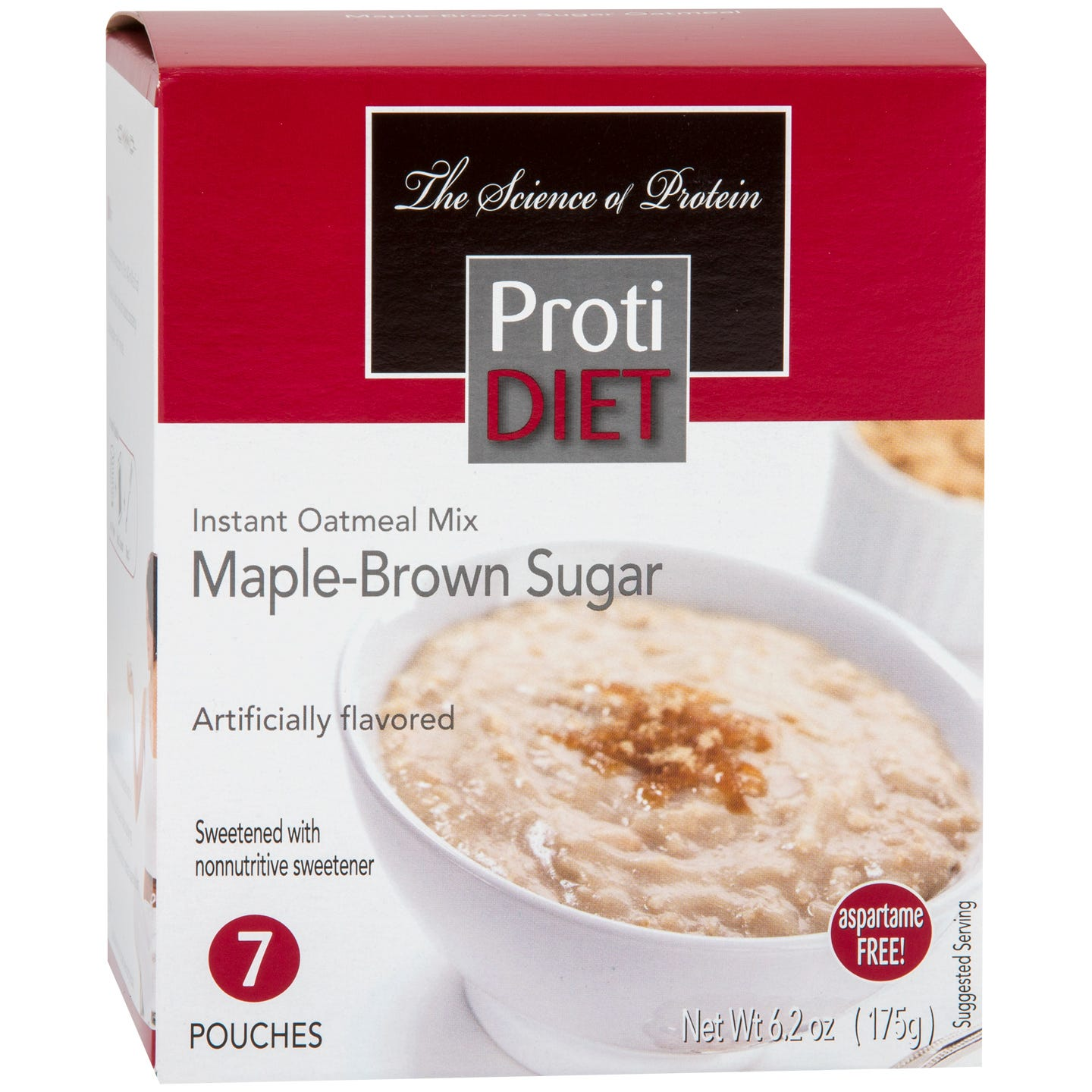 Instant Oatmeal Maple Brown Sugar (7 Ct) - ProtiDiet