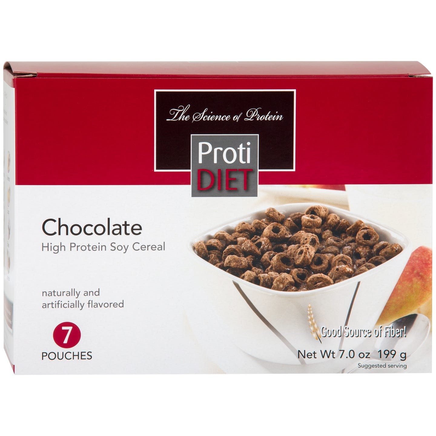 High Protein Soy Cereals Chocolate (7 Ct) - ProtiDiet