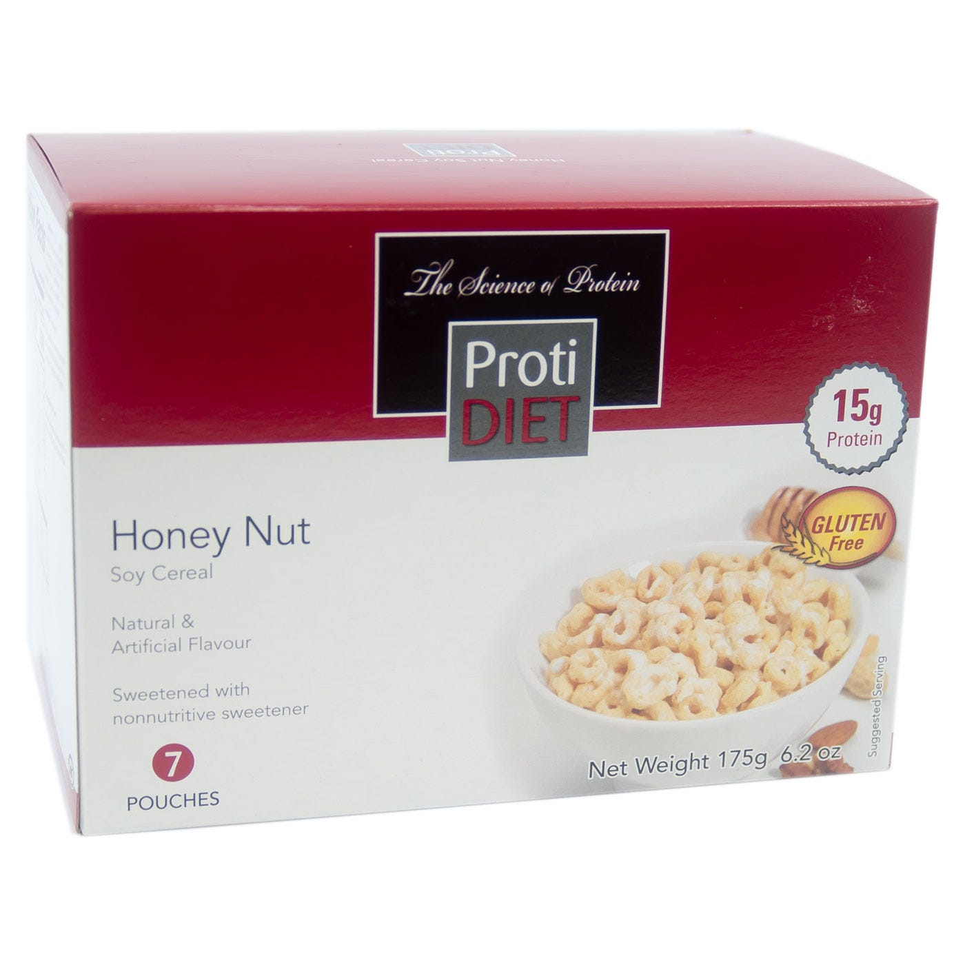 ProtiDiet Cereal, Honey Nut (7ct)