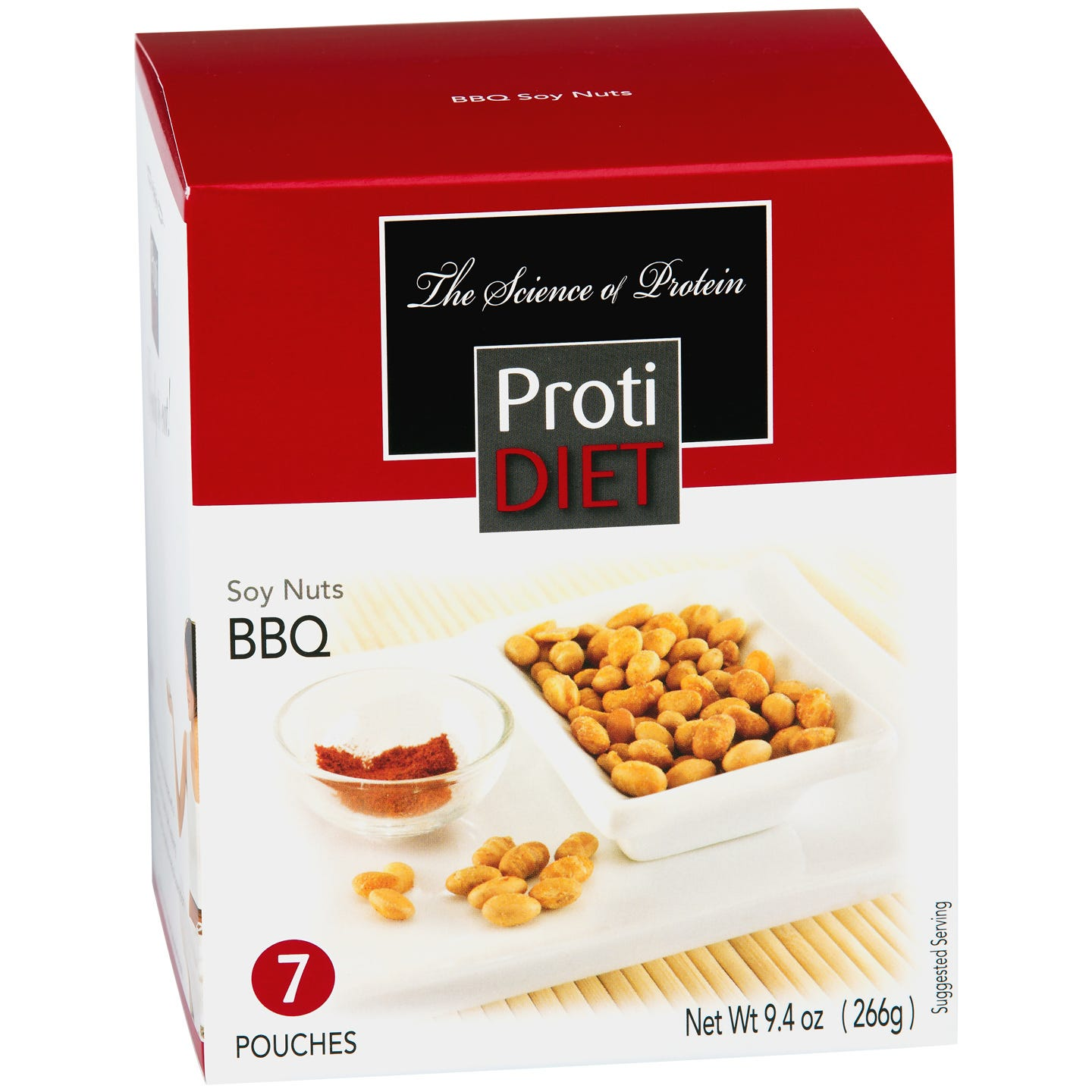 ProtiDiet Roasted & Salted Soy Nuts - BBQ