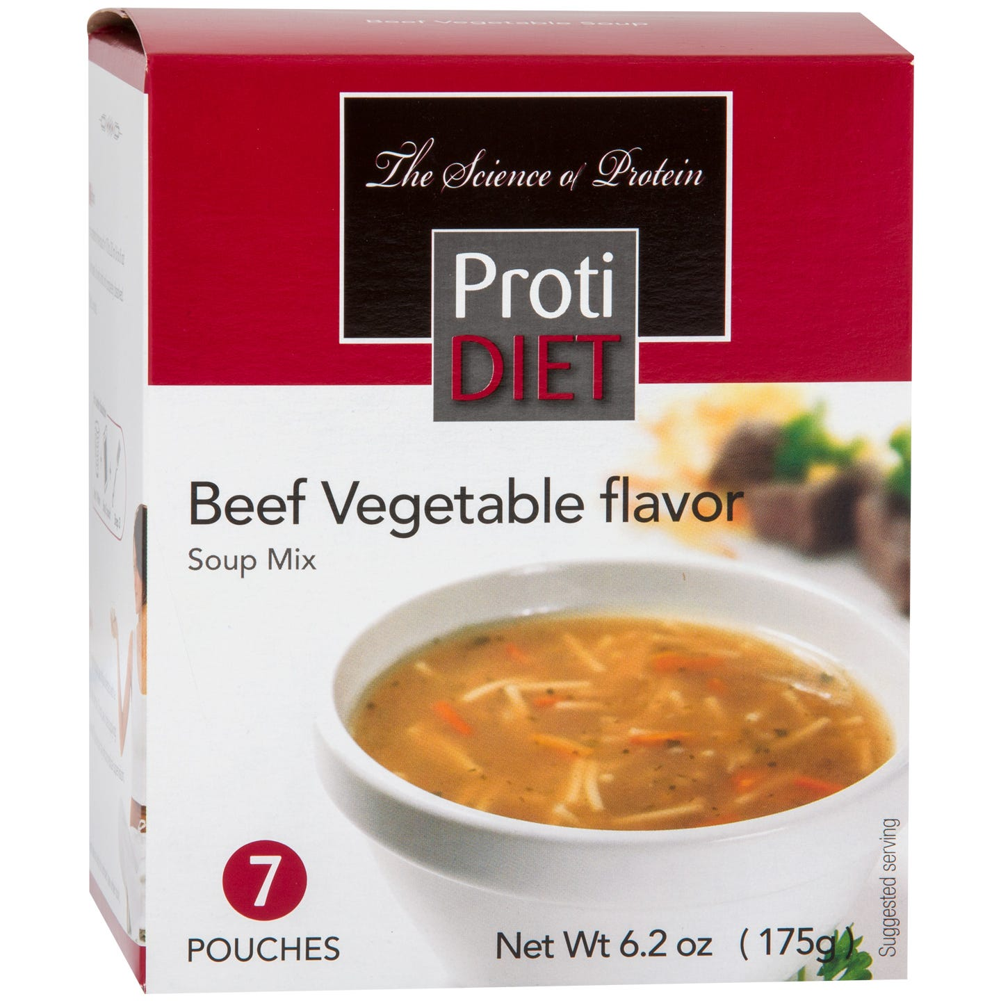ProtiDiet Soup, Beef Vegetable (7ct)
