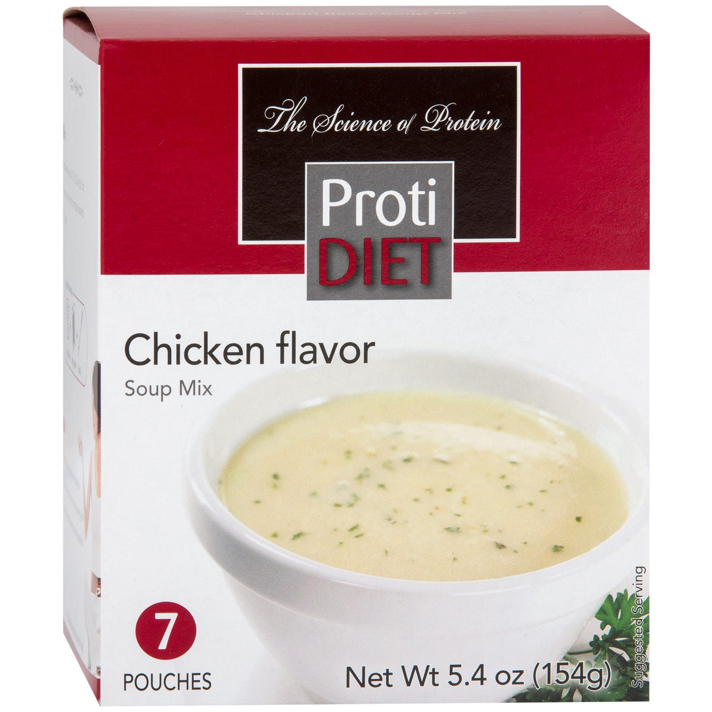 High Protein Soup Mix Cream Of Chicken (7 Ct) - ProtiDiet