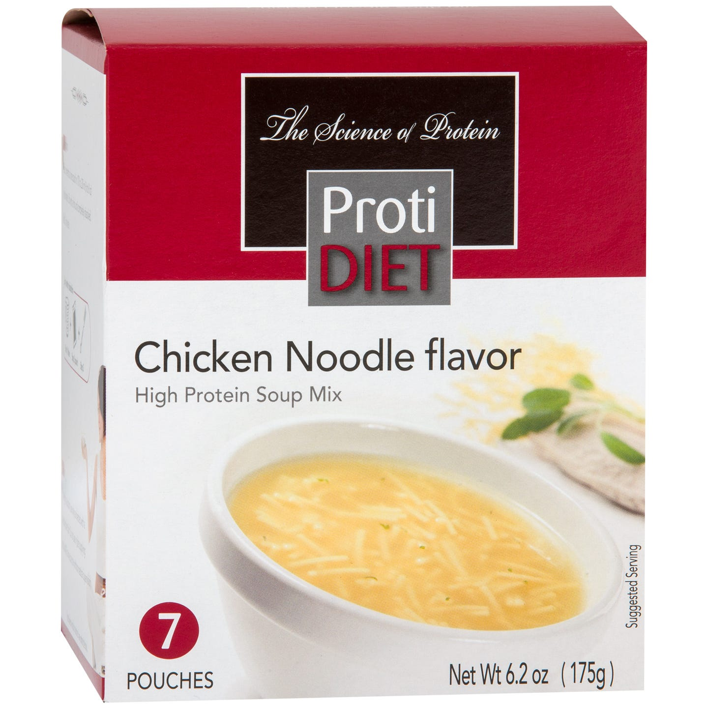 High Protein Soup Mix Chicken Noodle (7 Ct) - ProtiDiet