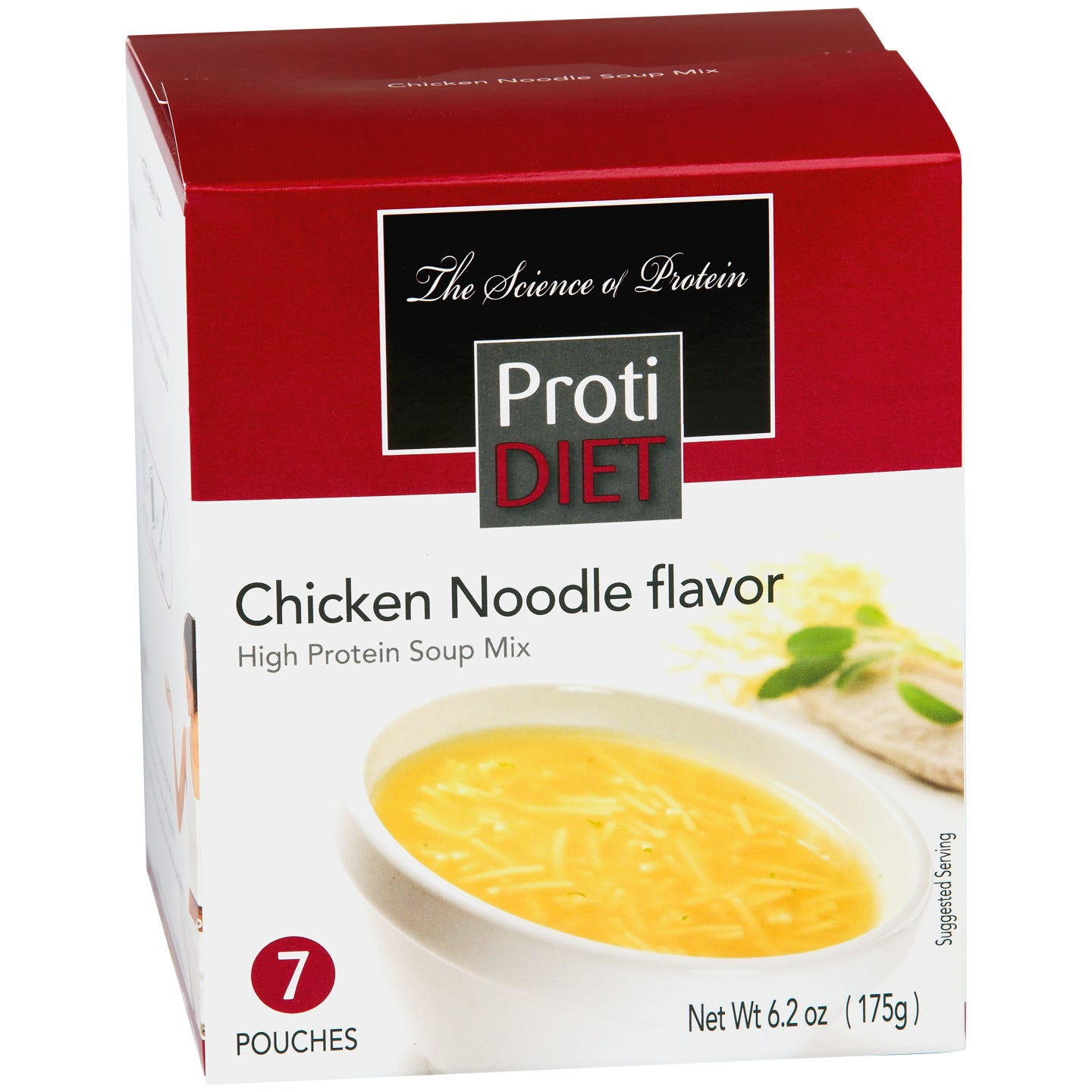 High Protein Soup Mix Chicken Noodle (7 ct) - ProtiDiet - Rapid Diet Weight Loss Products Shop