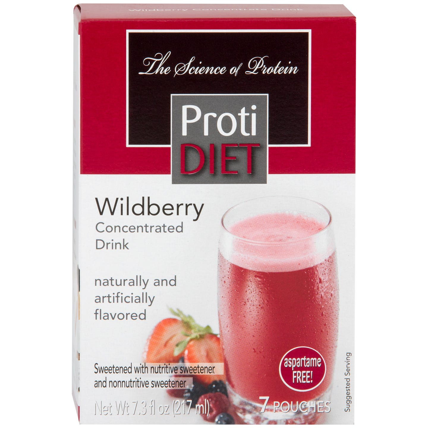Protein Fruit Drink Concentrate Wildberry (7 ct) – ProtiDiet