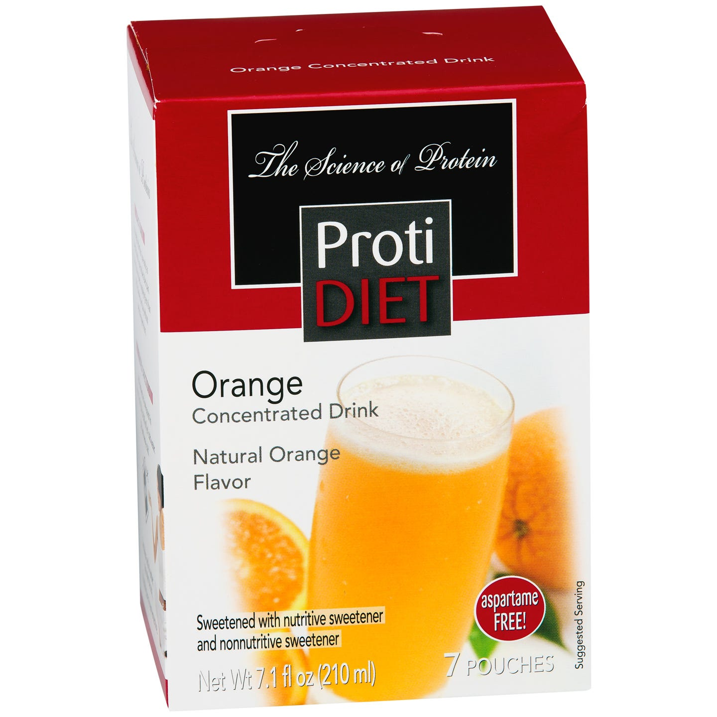 ProtiDiet Protein Fruit Drink Concentrate - Orange