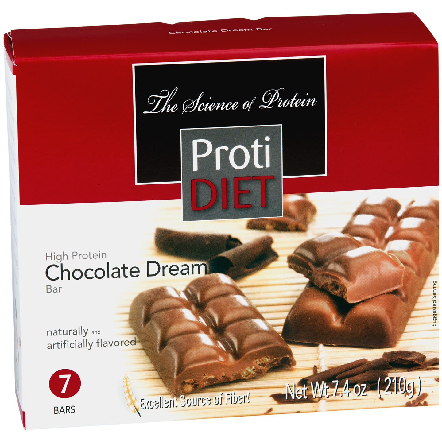 High Protein Sugar Free Chocolate Dream Bar (7 ct) - ProtiDiet - Rapid Diet Weight Loss Products Shop