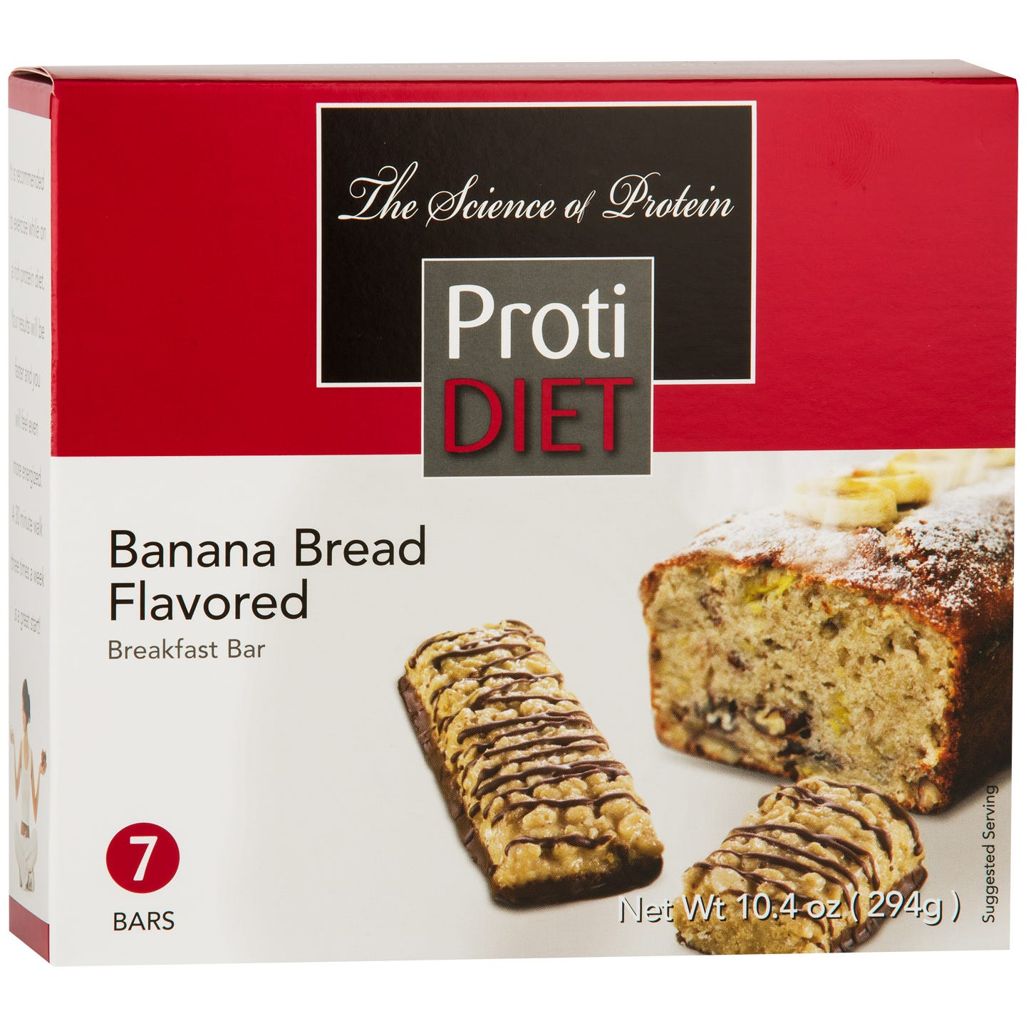 Breakfast Bar Banana Bread (7 ct) - ProtiDiet - Rapid Diet Weight Loss Products Shop