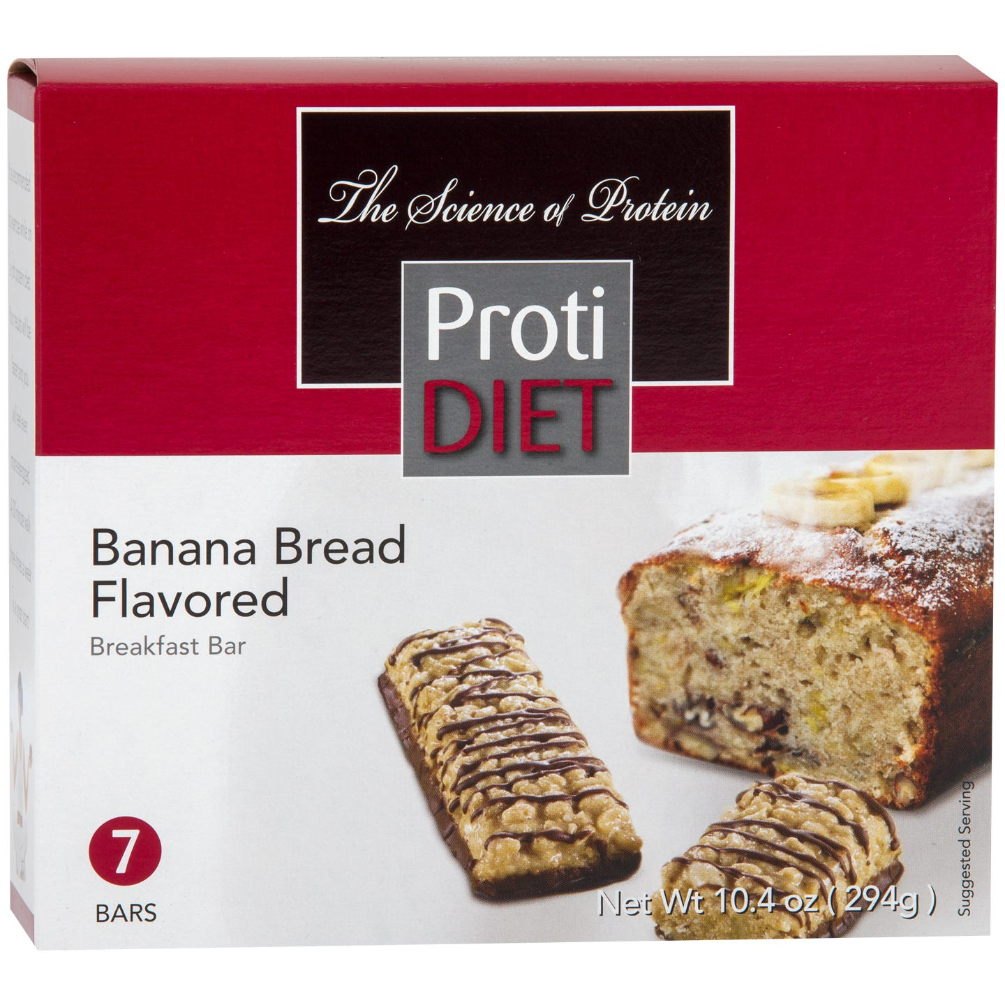 Breakfast Bar Banana Bread (7 Ct) - ProtiDiet