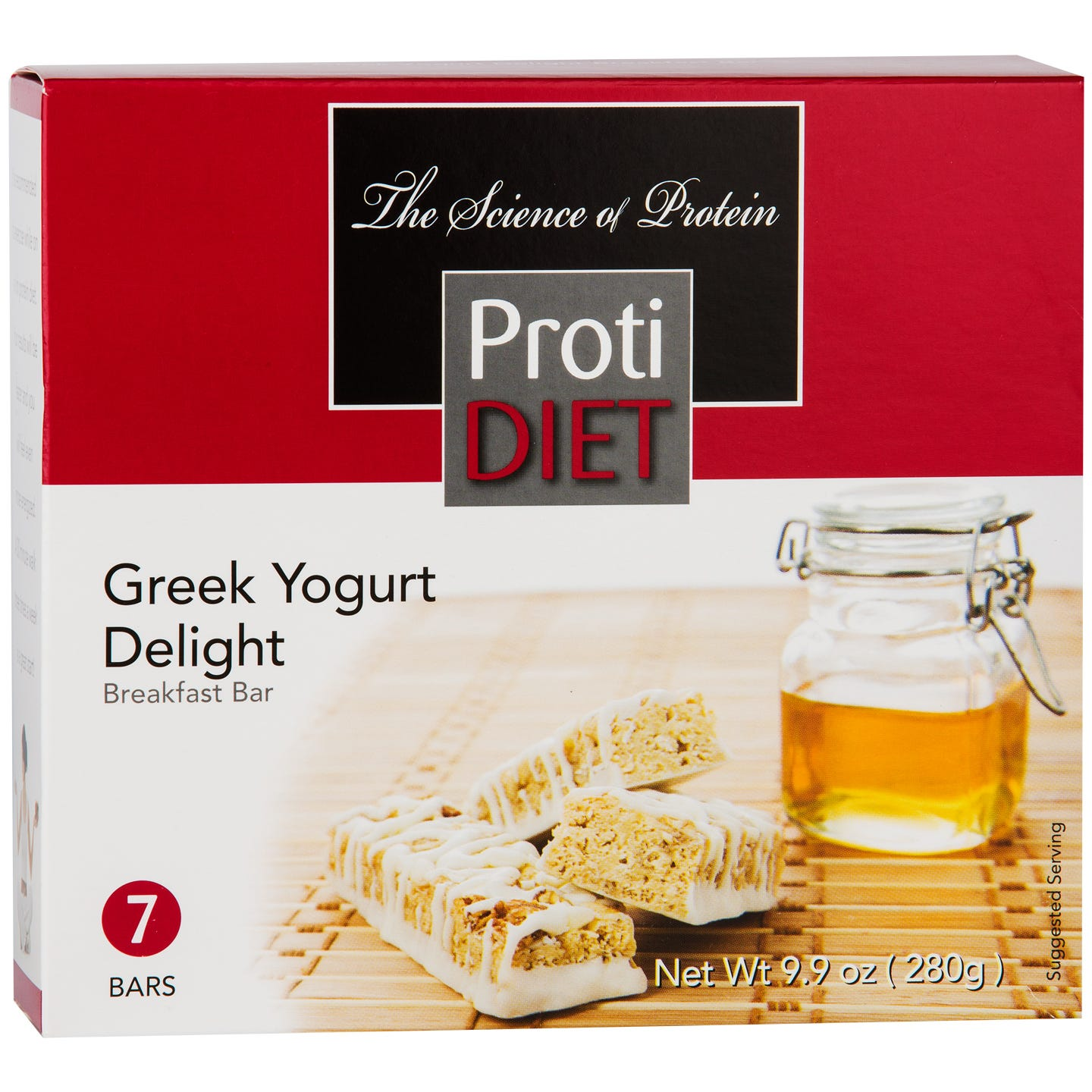 Breakfast Bar Greek Yogurt Delight (7 ct) - ProtiDiet - Rapid Diet Weight Loss Products Shop