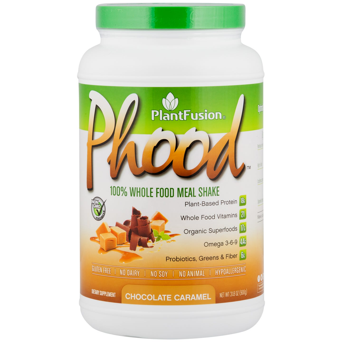 PlantFusion Meal Shake Chocolate Caramel 2lb, Phood - Rapid Diet Weight Loss Products Shop