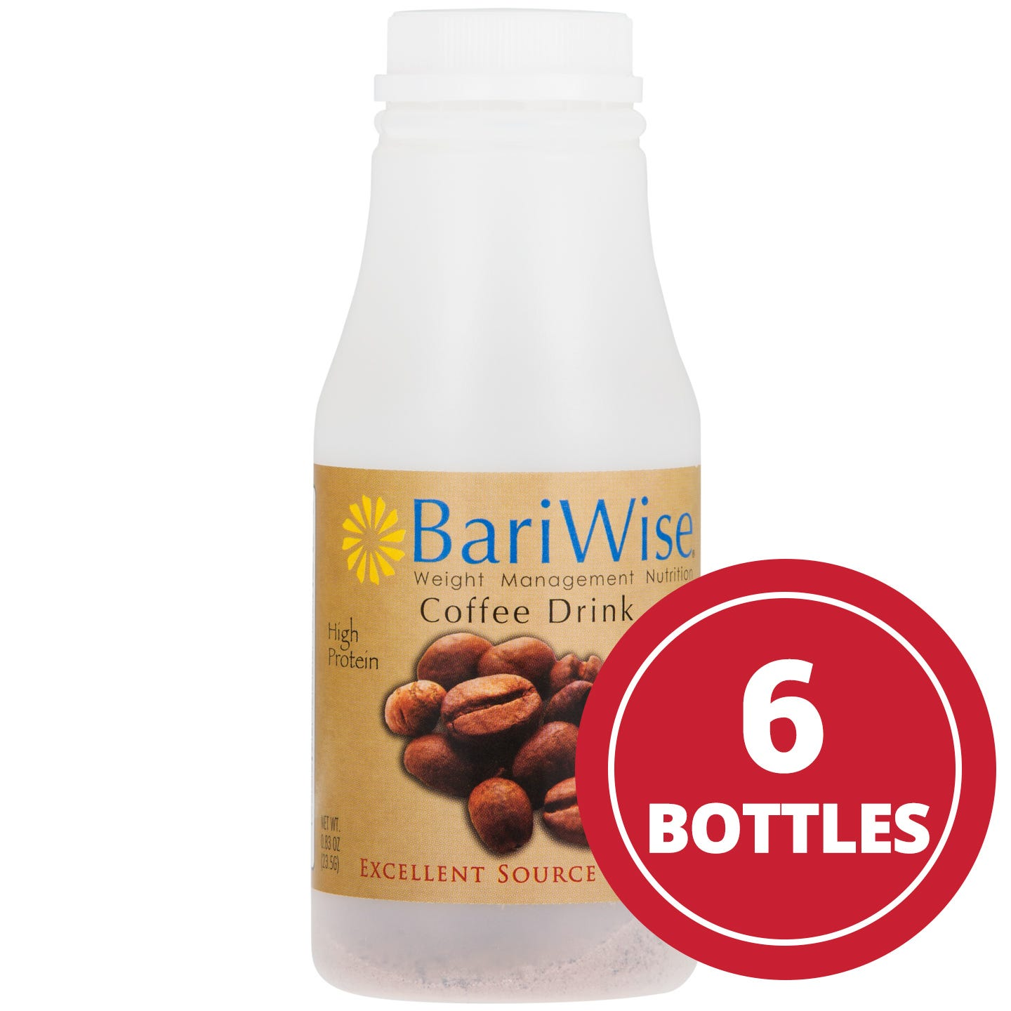 Instant Protein Drink Coffee (6 Ct) - BariWise