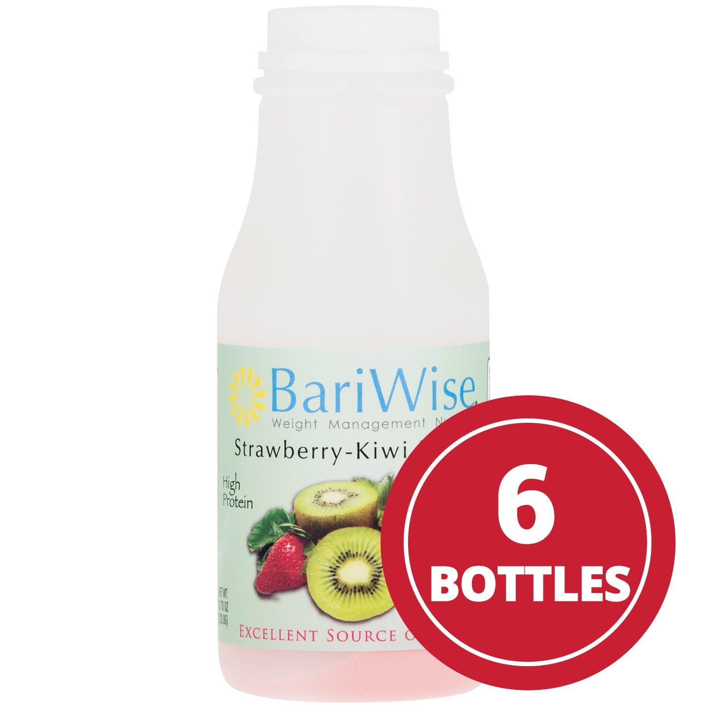 Instant Protein Drinks Strawberry Kiwi (6 Ct) - BariWise