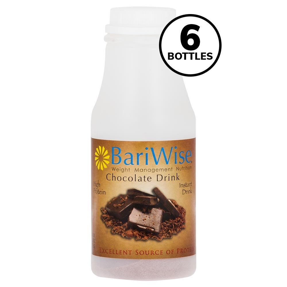 BariWise On-the-Go Drink, Chocolate (6ct)