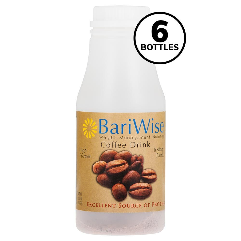 BariWise On-the-Go Drink, Coffee (6ct)