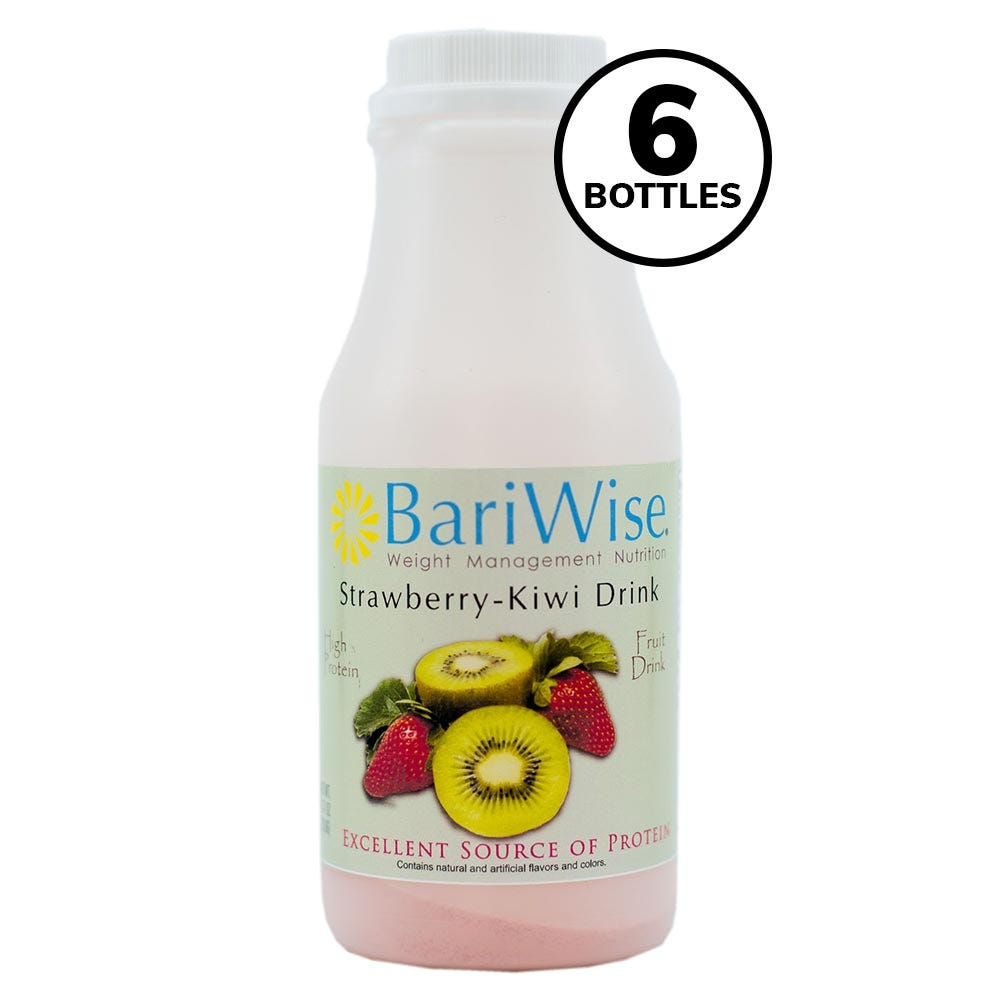 BariWise On-the-Go Drink, Strawberry-Kiwi (6ct)