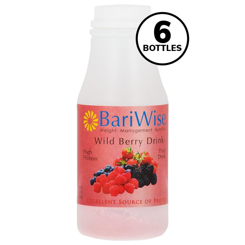 BariWise On-the-Go Drink, Wild Berry (6ct)