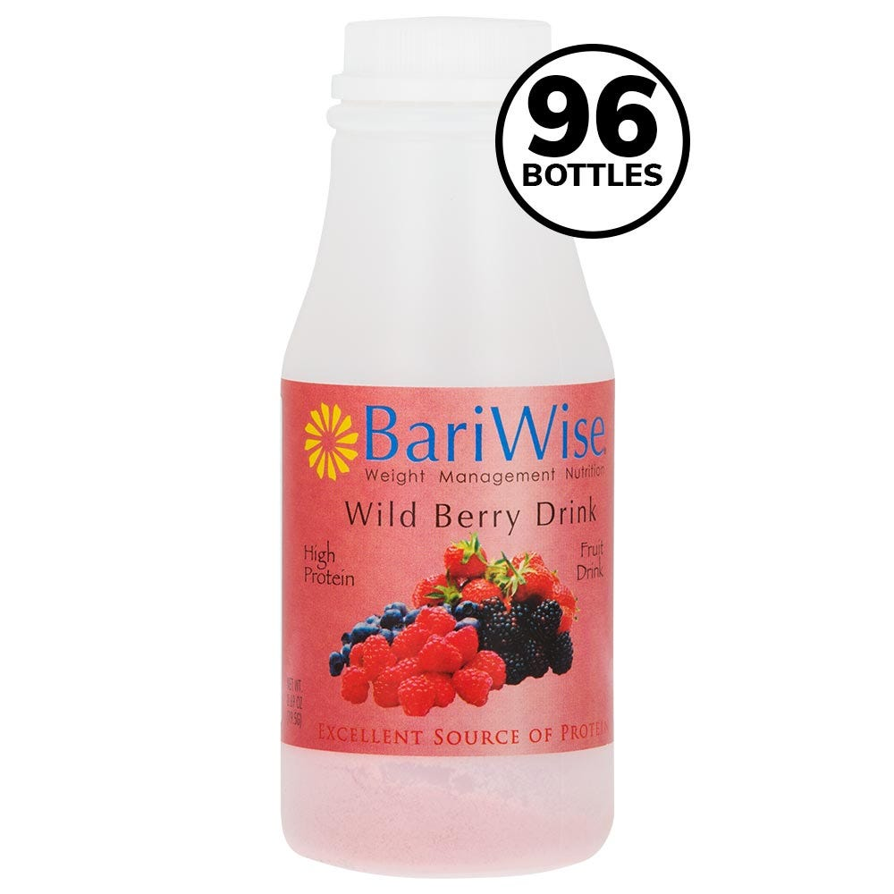 BariWise On-the-Go Drink Case, Wild Berry (84ct) (Save 15%)